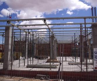 Diseño y ejecución de proyectos: Servicios de Construcciones Mopar de Iniesta