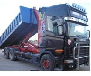 Servicio de camión gancho