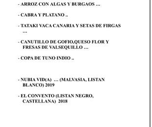 Canaria me gusta 8 Mayo 2021