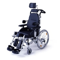 Silla de ruedas basculante de relax autopropusable Serena