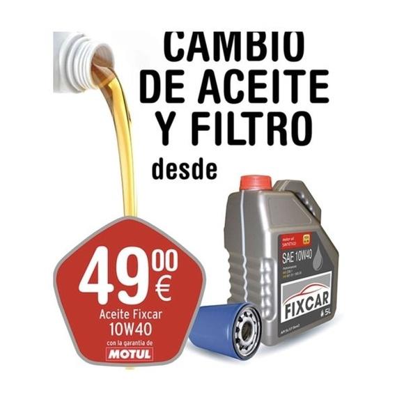 Cambios de filtro y aceite desde 50€: Catálogo de Car Wash Alcorcón