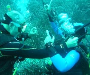 Escuela de submarinismo en Menorca