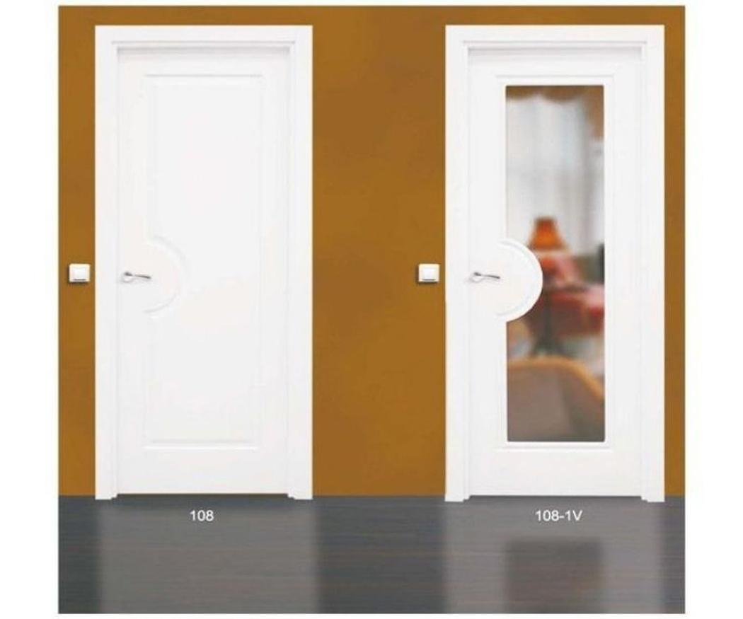 ¿Puertas con o sin cristal en el interior?