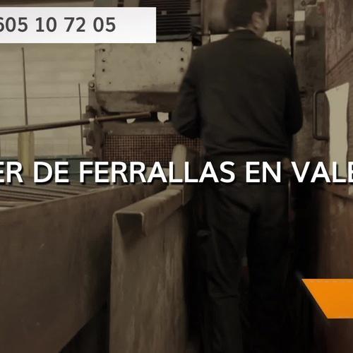 Taller de ferralla en Valencia | Hierros y Ferrallas Cruz