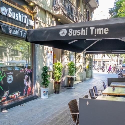 Terraza de SUSHI TIME