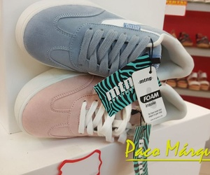 Zapatillas antelina color pastel Mustang