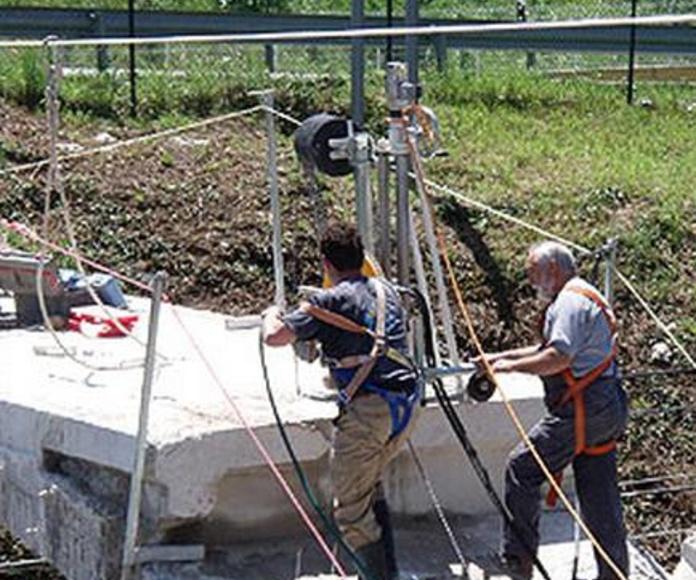 Corte con hilo diamantado: Servicios de Perforaciones y Corte de Hormigón Miguel
