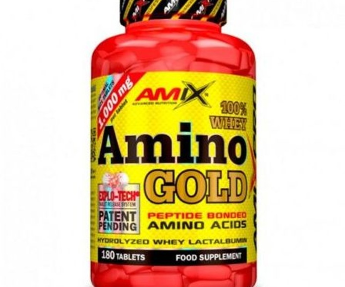 Amix® Whey Amino Gold es un complemento alimenticio compuesto por aminoácidos procedentes de proteína de suero de leche pura hidrolizada de la más alta calidad.