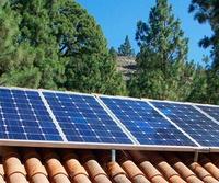 Instalación de energía solar en Tenerife