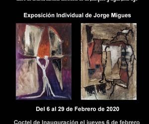 JORGE MIGUES, Exposición individual