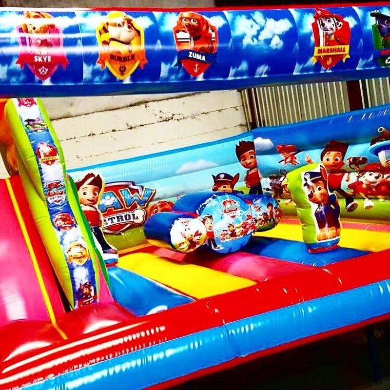 Castillo hinchable plataforma tobogán: Catálogo de Hinchables Happy Jump