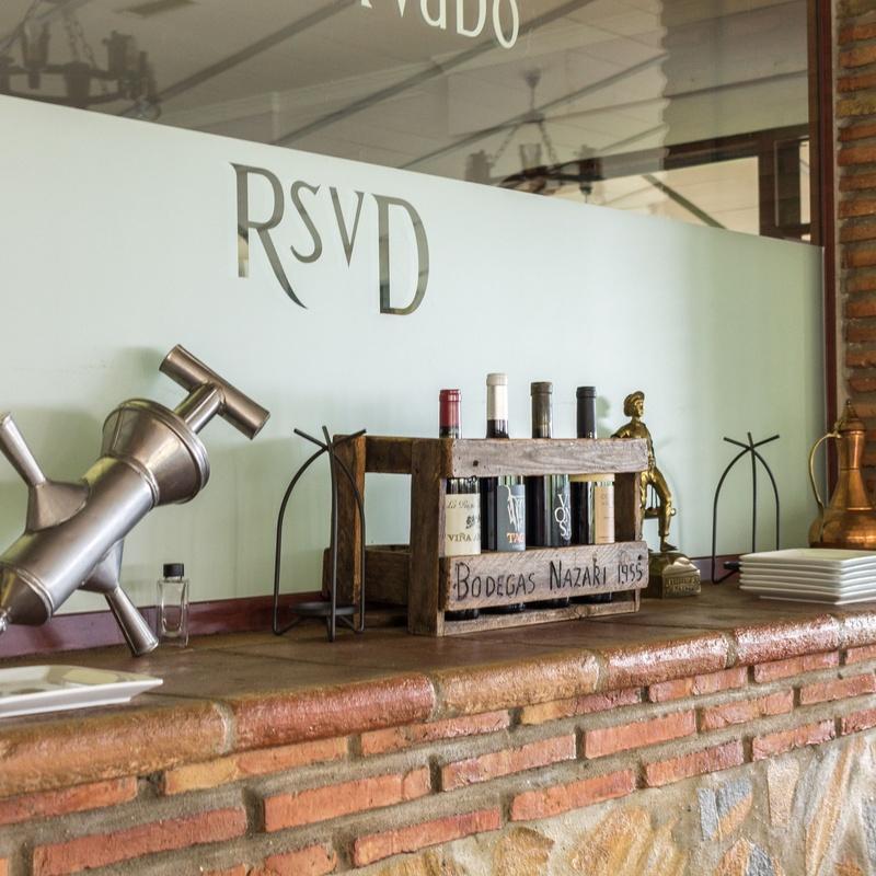 Nuestras instalaciones: Carta y menús de El Reservado Restaurante