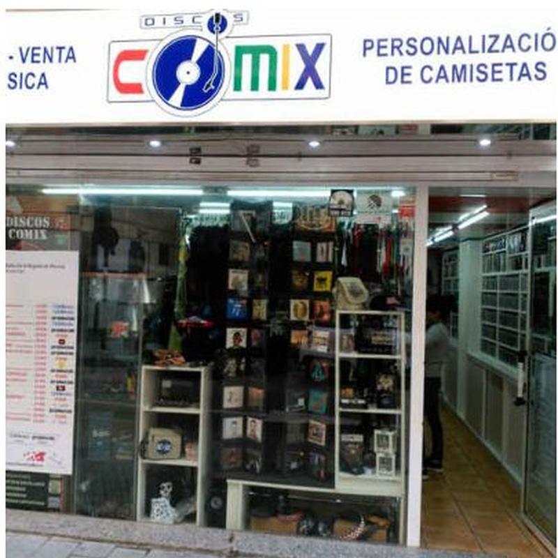 Catálogos: Productos de Discos Comix