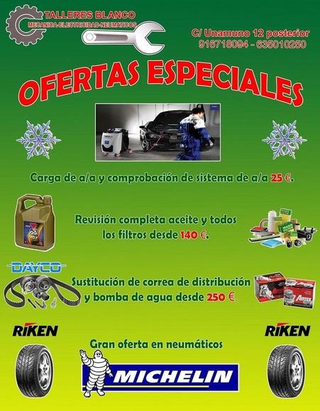 GRAN OFERTA EN NUESTRAS REPARACIONES: Servicios de Talleres Blanco