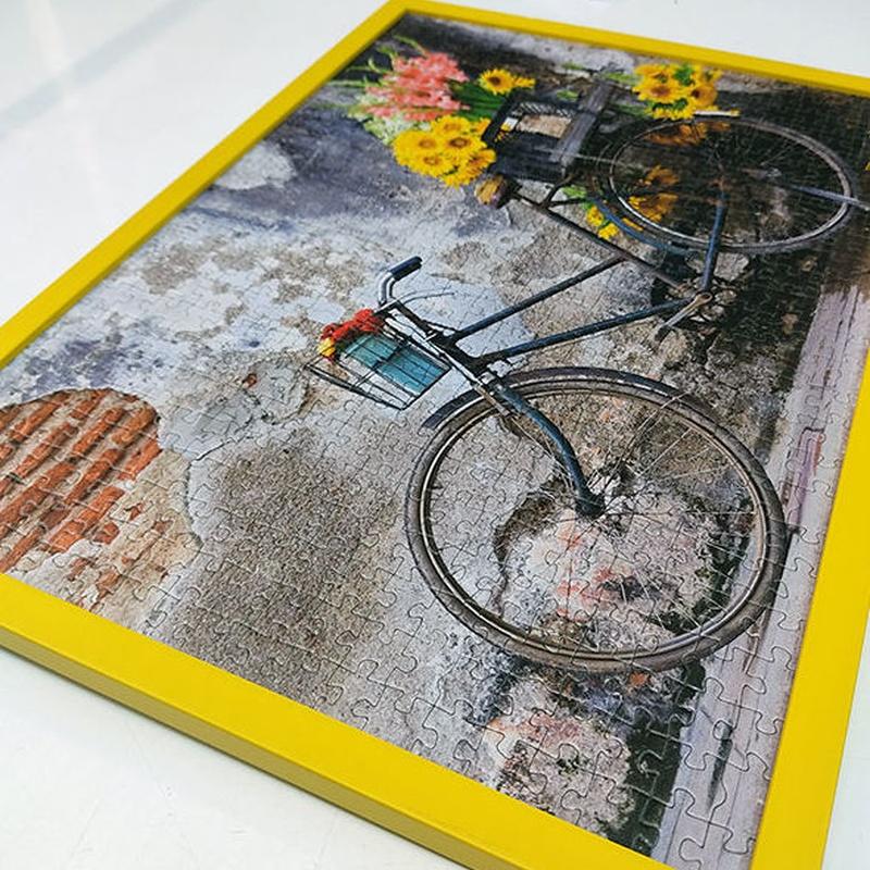 Enmarcación y laminado de puzzles. Servicio de Forma 88 en Salamanca