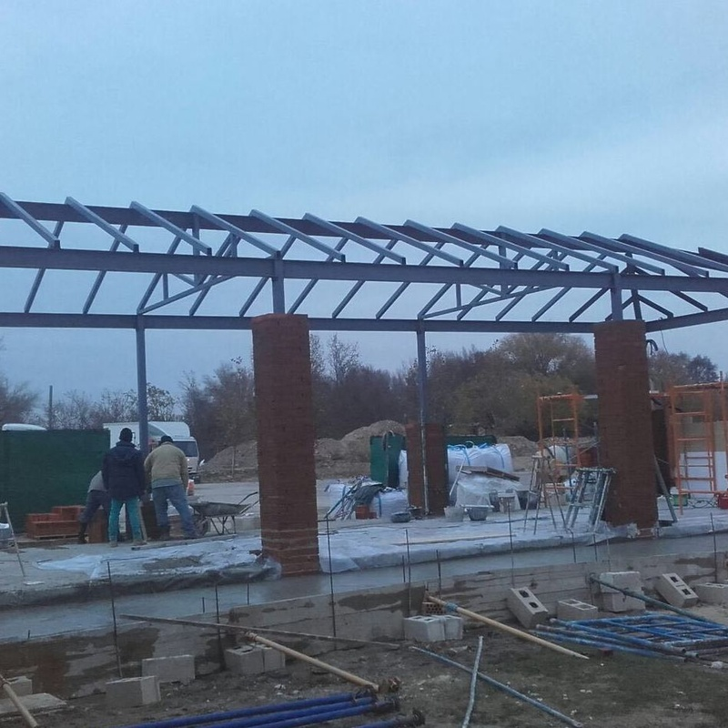 Estructura de techo en Toledo