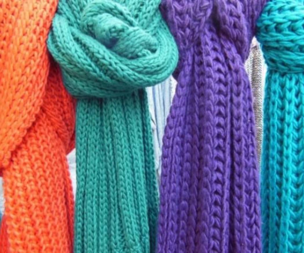 La moda de las bufandas de lana