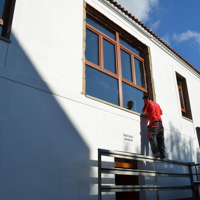 Acristalamiento de Obras Gijón