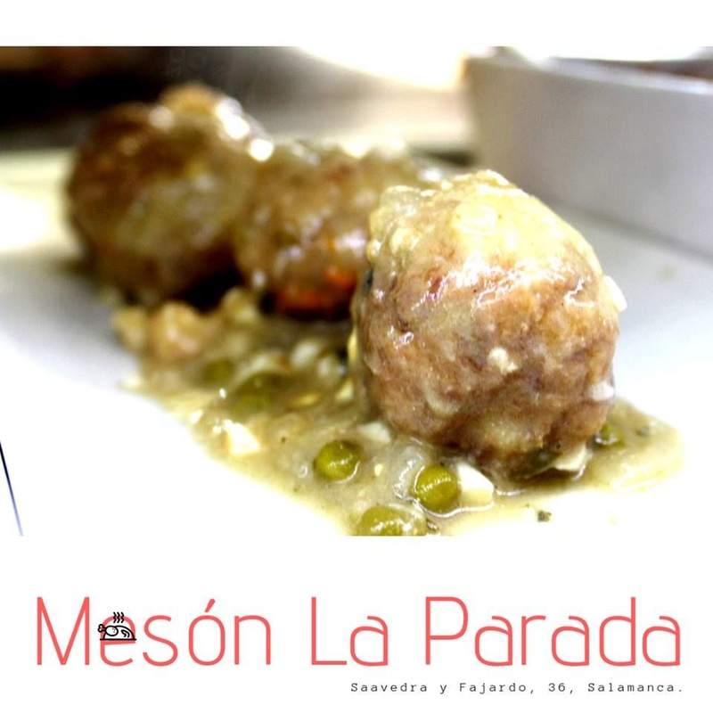 Carnes a la brasa, asados, pescados y mariscos: Carta de Mesón La Parada