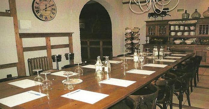 Reunión de Empresa en Txoko Bilanda .