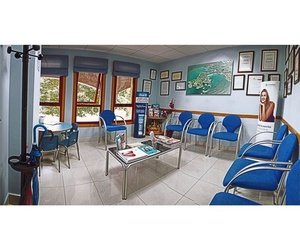 Sala de espera de la clínica dental