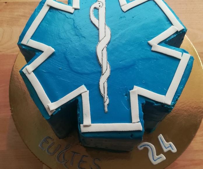 tarta cruz de la vida