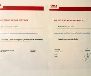 Certificado Técnico Avanzado
