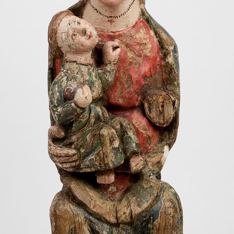 """""""Virgen con el Niño"""": Catálogo de Goya Subastas"""