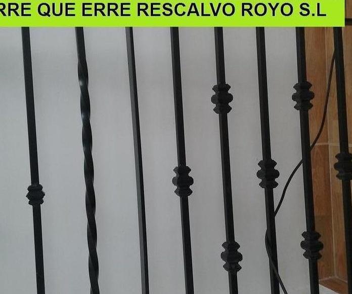 REJAS y CANCELAS DE HIERRO: Servicios de Exposición, Carpintería de aluminio- toldos-cerrajeria - reformas del hogar.