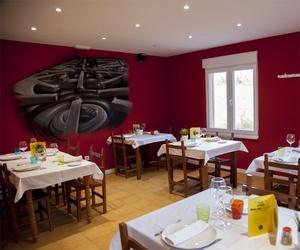 Salones de nuestro restaurante en Castrillón
