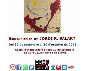 """Exposición individual """"L'Any dels gripaus"""" de Jordi.R.Salart"""