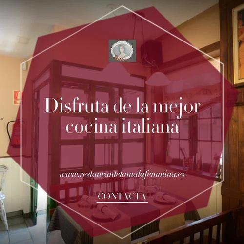 Restaurante italiano Lugo | La Malafemmina