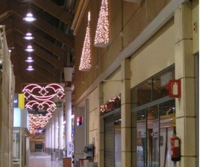 iluminación de centros comerciales en El Prat de Llobregat Barcelona