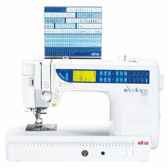 Máquina de coser Elna 720 Excellence: Productos de J. Pujol