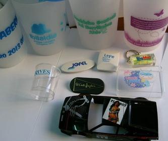 Serigrafía: Productos y servicios de Tamponil