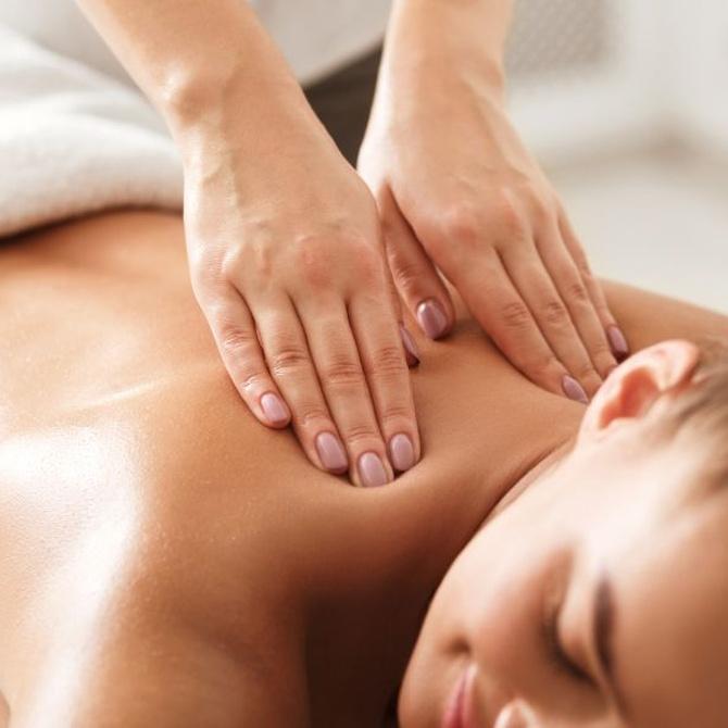 Los beneficios del masaje descontracturante