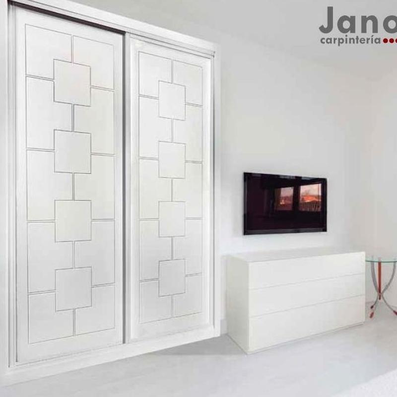 Modelo 948 Fabricamos armarios lacados pantografiados a medida en Madrid y Toledo