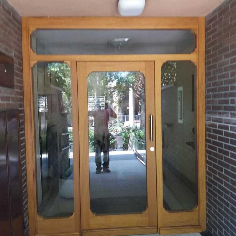 Puertas de exterior en madera