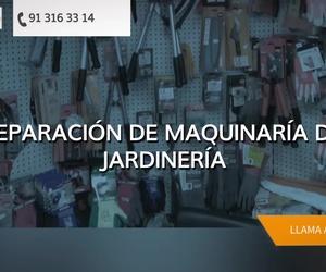 Venta de maquinaria de jardinería Madrid centro