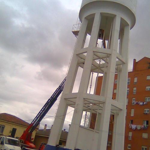 Impermeabilización interior de depósito elevado de agua potable