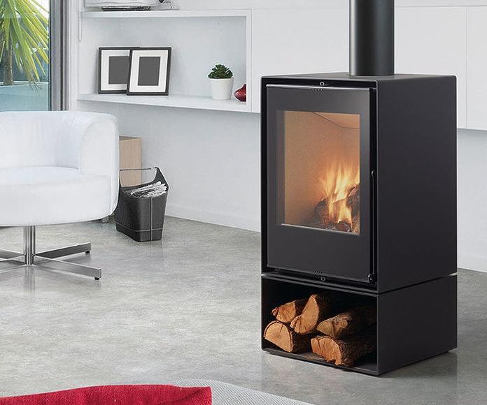 Estufas de acero ROCAL: Catálogo de Productos de Llars de Foc-Valls
