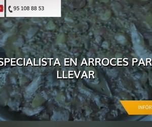 Arroces y paellas en Málaga | Guisando Comida para Llevar