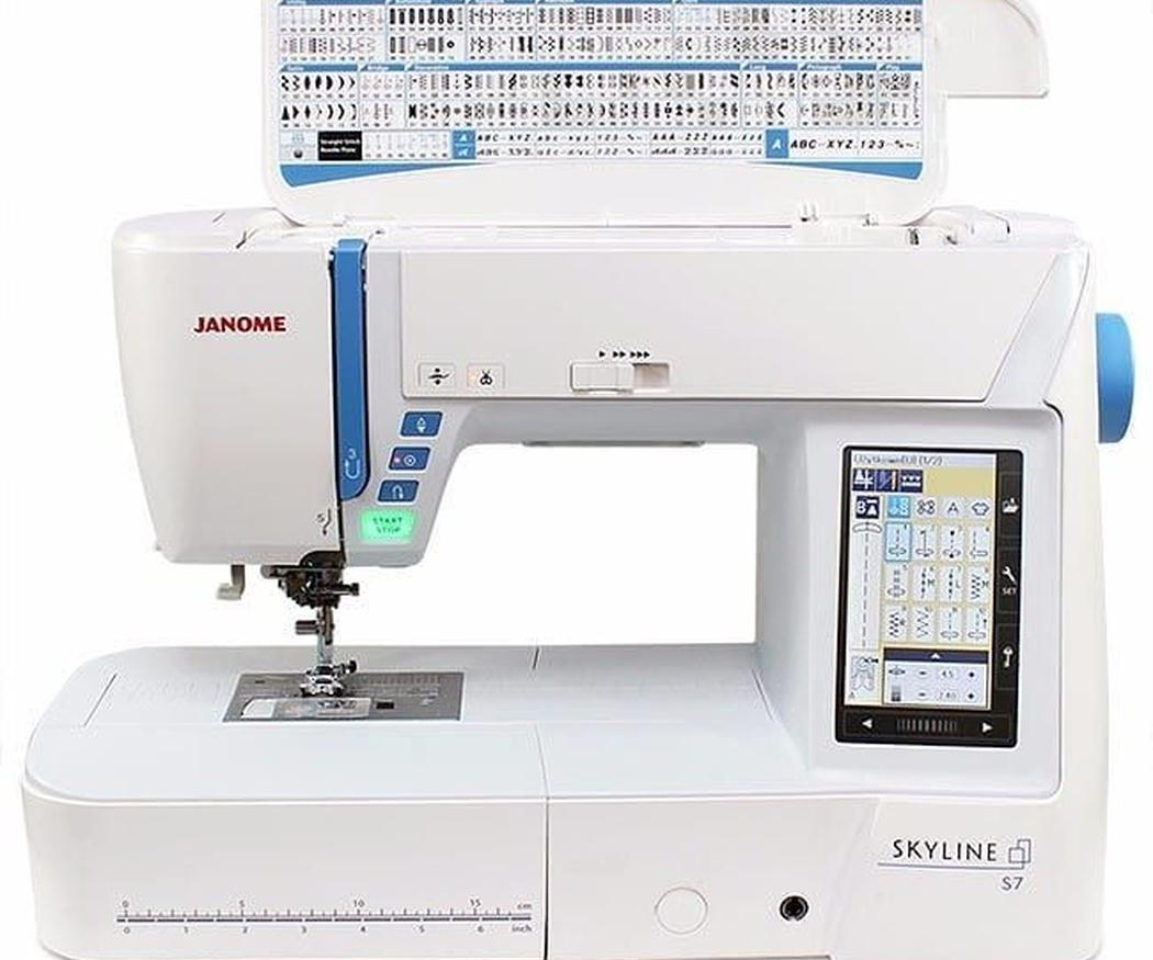 Tipos de máquinas de coser según su función