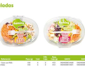 Nuevas ensaladas frescas, sanas y ecológicas