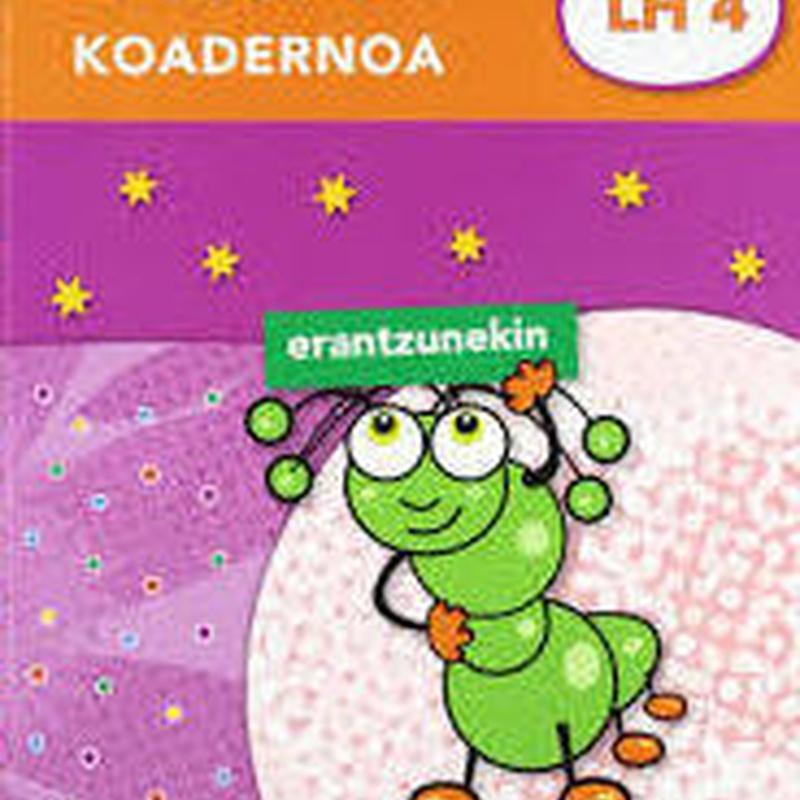 Oporretako koadernoa 4 (Erantzunekin) Ed. IKASELKAR 9788497838856