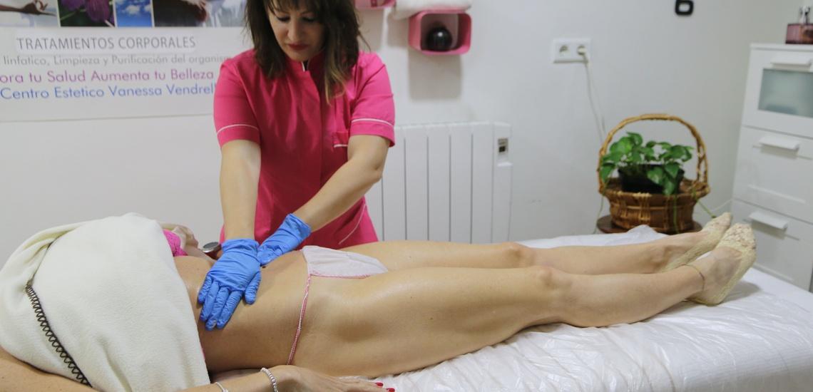 Masajes y tratamientos reductores corporales en Valencia