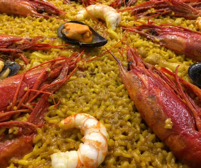 Gastro-Arrocería: Carta-Terraza-Comedor de Arroceria Maribel