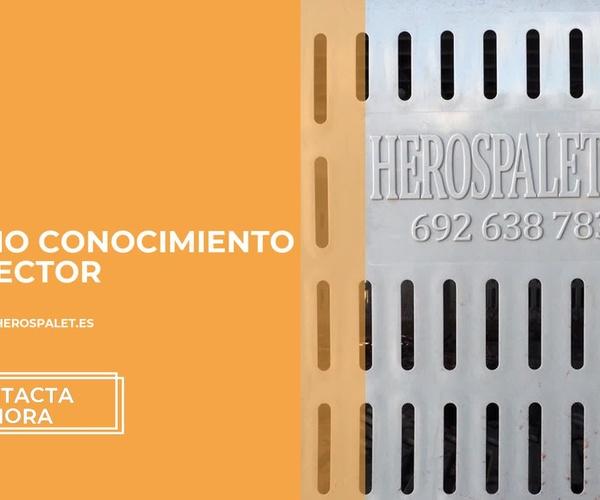 Palots de plástico en Cádiz | Herospalet