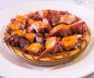 ¡Coma buen pulpo a feira en Barcelona!