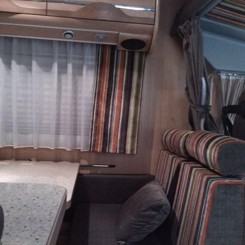 Tapizados de caravanas: Servicios de Tapicería Colber